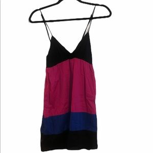FOREVER 21 color block dress size small